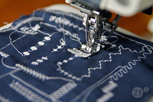 Week 21 :: Day 5 [new sewing machine!]