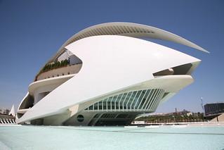 España, València : Palacio de las Artes Reina ...
