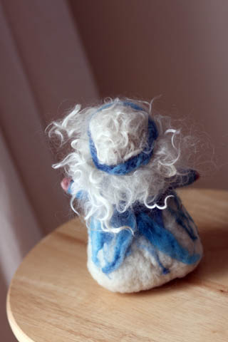 Needle Felted Doll