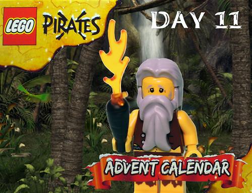Pirate Advent Calendar Day 11