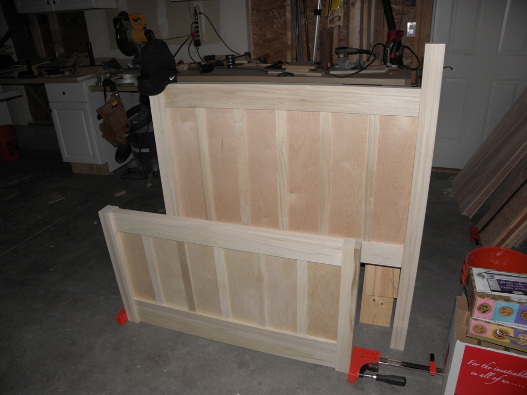 Assembled Head and Foot boards