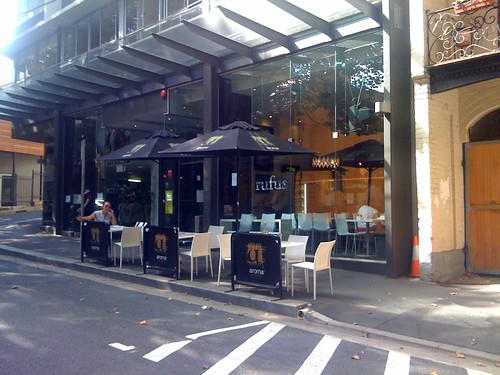 Rufus Cafe, surry hills