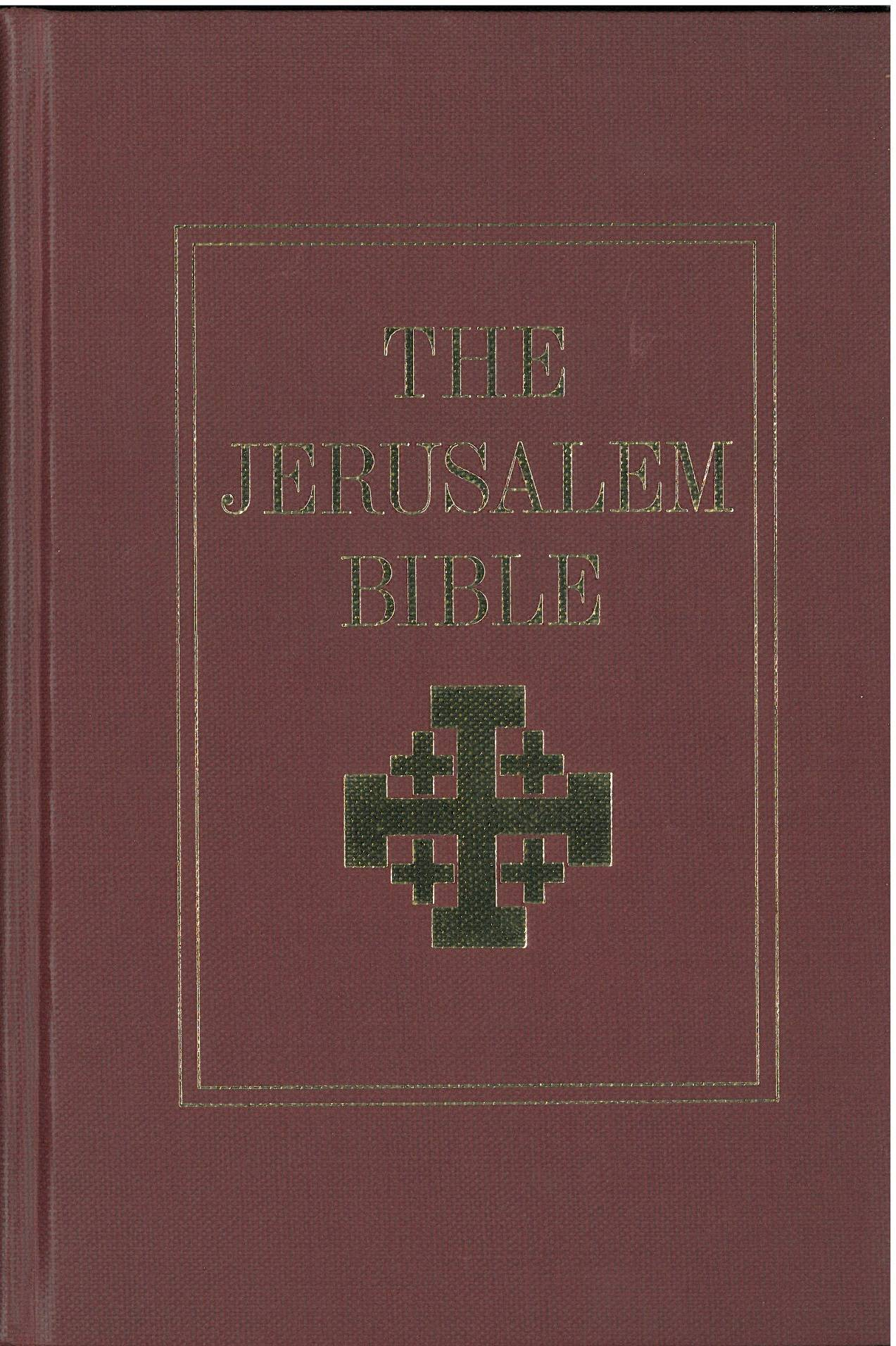 Jerusalem Bible English  Internet Bible Catalog