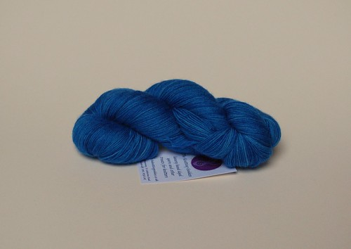 4ply, BFL, Semi solid blue