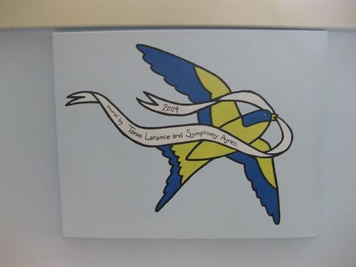 Bird with Banner