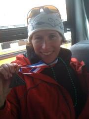 arah and her kortelopet medal