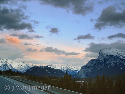 Rundle From the Highway