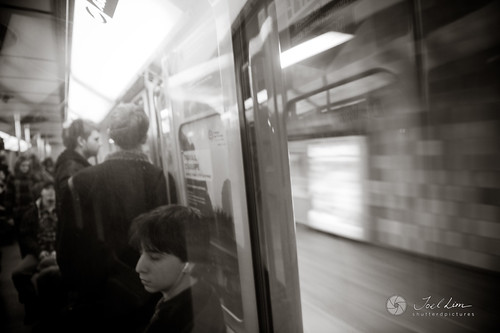 Riding the Montreal Subway