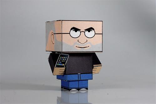 Steve Jobs  by jayhauf.