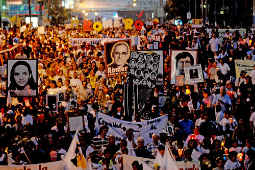 Romero commemoration March 2010 by speakingoffaith.