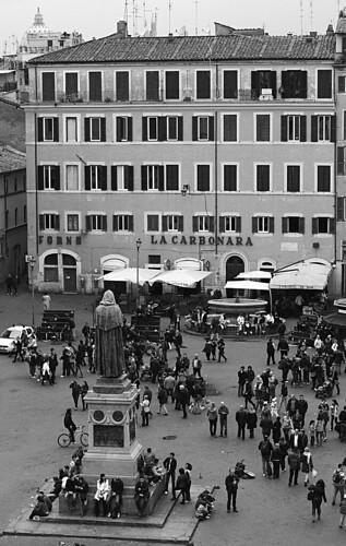Campo de Fiori, Rome, Roma, Italy, Italia, Piazza, square
