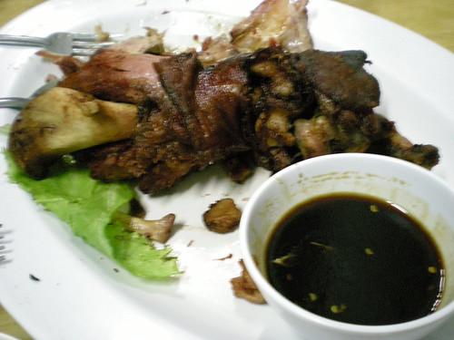 Philippine pork leg