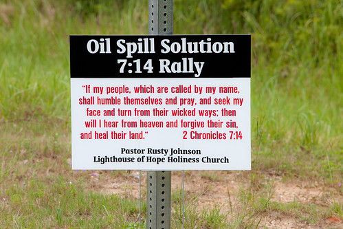 Oil Spill Solution Bible Verse - 7:14 Rally - TEDx Oil Spill Expedition
