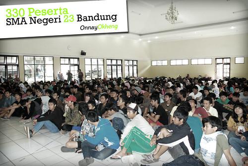 330 peserta SMA Negeri 23 Bandung