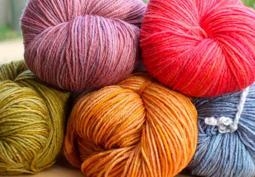 Knitabulous yarns