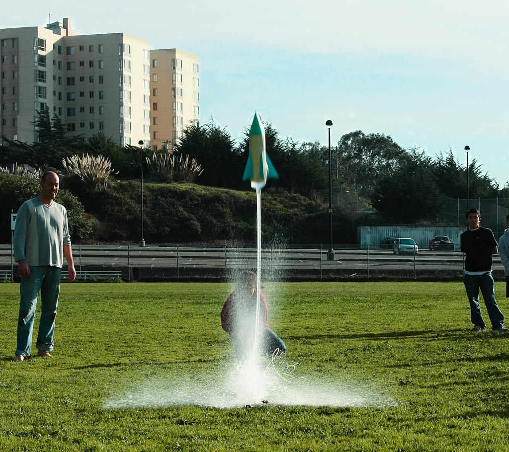 Physics Standalone Rocket Launch
