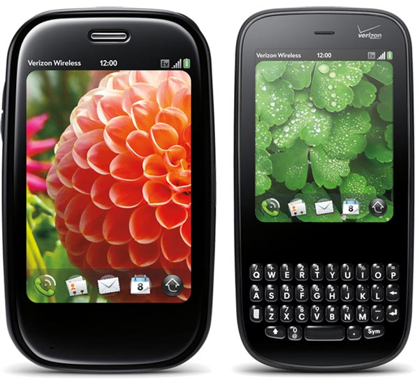 Palm Pre & Palm Pixi Side-by-Side