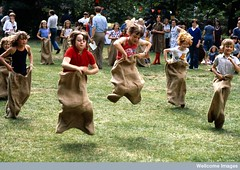 Primary school children, sports day by Anthea ...