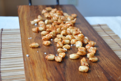 """Baked, Spiced """"Corn Nuts"""""""