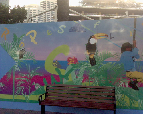 Darling Harbour mural