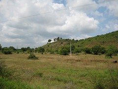Hilltop Murugan temple from the road