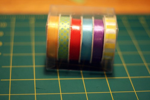 ribbon-bound blank books: the ribbon