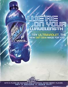 Mt Dew Ultra Violet