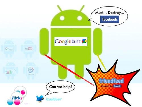 Google Buzz vs. FriendFeed