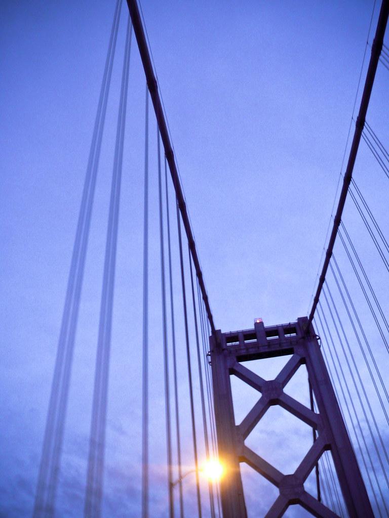 Bay Bridge by unicellular