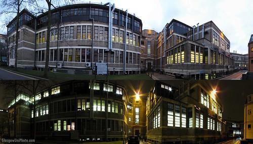 Joseph Black Building (Day & Night)