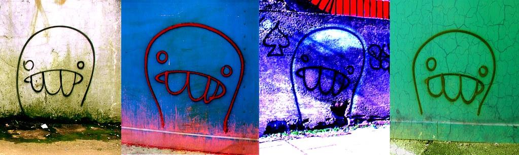 Cardiff Graffiti Characters No1