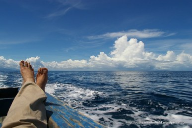 Somewhere between Carita & Cabe Lagoon