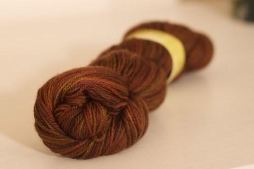 Batik Spice Fiber Optice Yarn