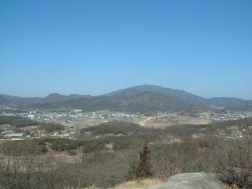 Kamaksan Mountain Viewed from Hill 205
