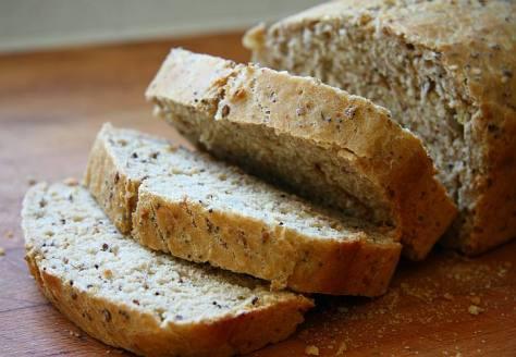 Pan integral con cereales