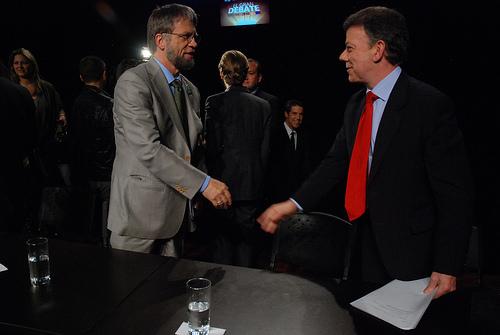 Mockus y Santos