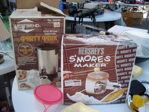 Party Perk and S'mores Maker