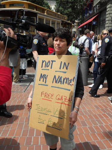Gaza Flotilla Protest -- San Francisco -- Jewish Voice for Peace by Michael 1203.
