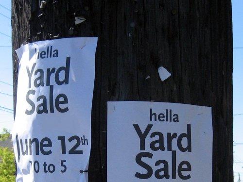 Hella yard sale