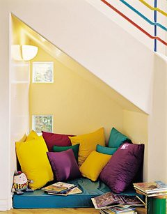 stair alcove, nook
