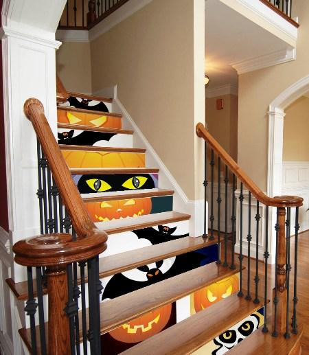 decoracao na escada