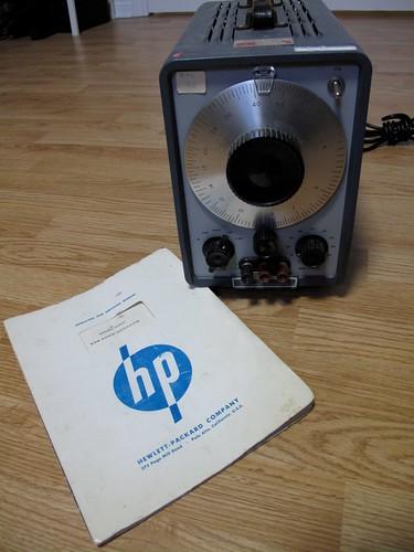HP 200CD and manual
