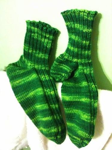 Matt's Finished Socks