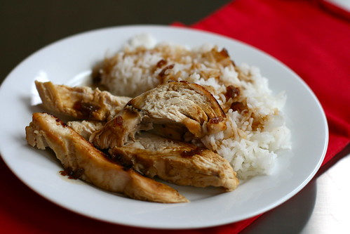 served with rice