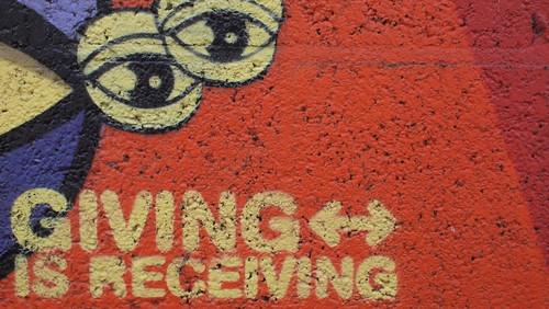 Giving is Receiving
