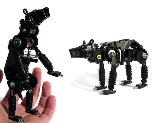 Robot Sculpture by Ann Smith