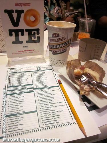 Voters Education At Krispy Kremem