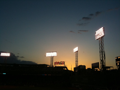 twilight at fenway