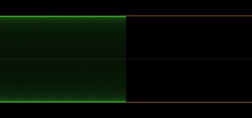 sine wave then square wave using histogram display