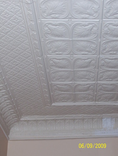 tin ceiling repair